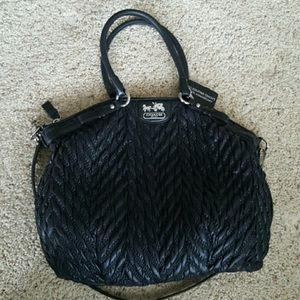COACH Limited Edition Quilted Lindsey Satchel